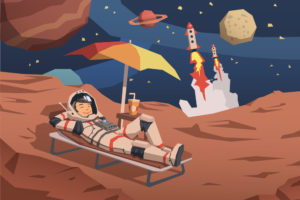 Will you be taking a vacation on Mars?